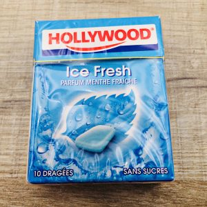 Chewing gum menthe fraîche Hollywood