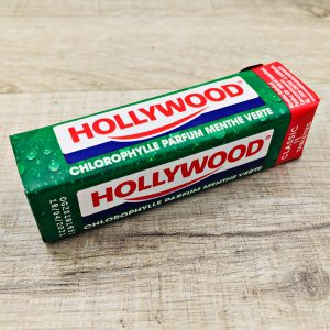 Chewing gum chlorophylle menthe verte Hollywood