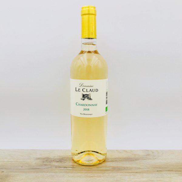 CHARDONNAY Vin biologique Domaine du Claud