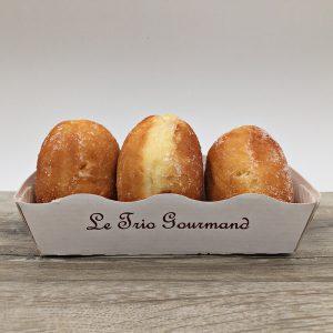 Trio de mini beignet