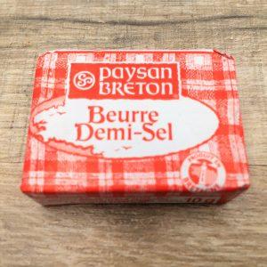 Mini beurre demi-sel paysan breton