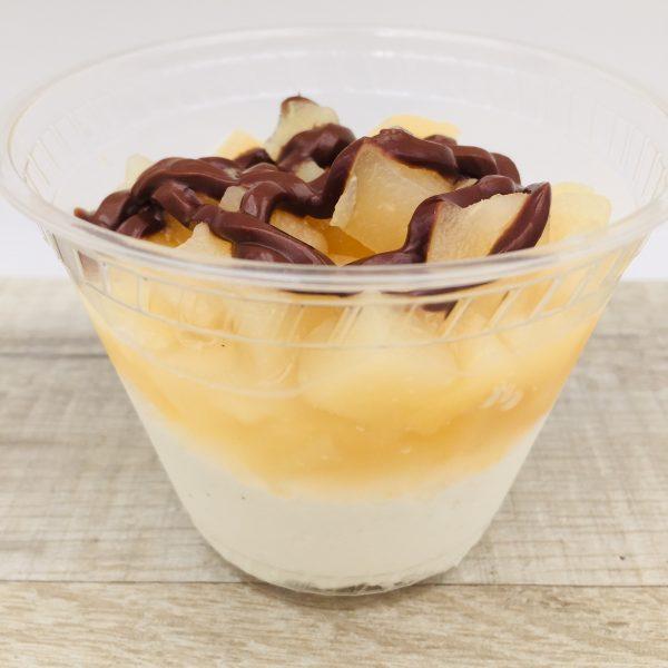 Duo mascarpone aux poires chocolat