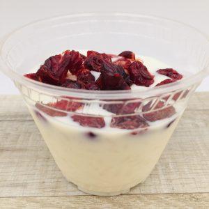 Riz au lait avec cranberry