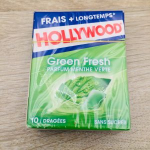 Chewing gum menthe verte Hollywood