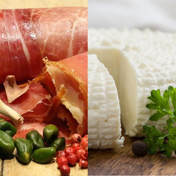 Jambon et fromage