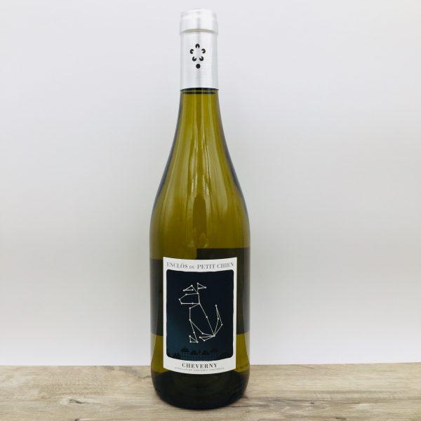 vin blanc enclos du petit chien